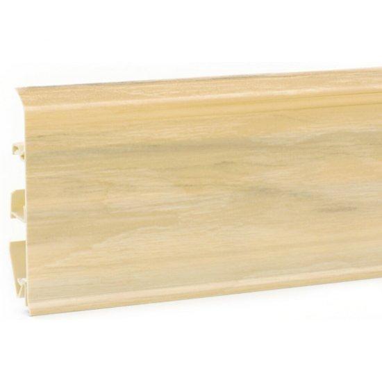 Listwa przypodłogowa EVO jesion biały 2,5 m KORNER