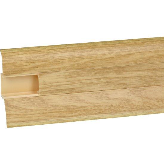 Listwa przypodłogowa Perfecta Wood dąb belweder 2,5 m KORNER