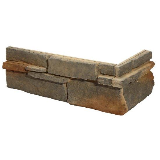 Narożnik do kamienia dekoracyjnego zewętrznego GRENADA 4 multikolor STEGU