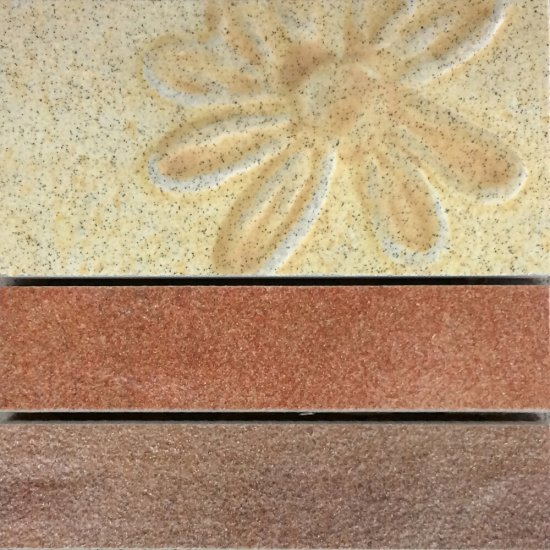 Gres szkliwiony REAL COTTO kremowy mozaika mat 8,8x8,8 gat. I