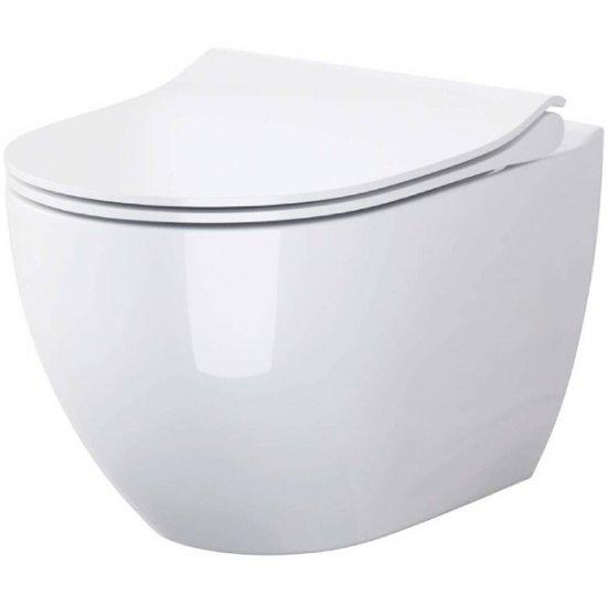 Miska WC podwieszana ZEN deska duroplast wolnoopadająca