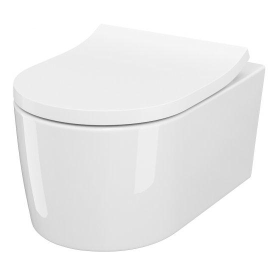 Miska WC podwieszana INVERTO StreamOn deska duroplastowa
