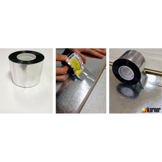 Taśma aluminiowa do podkładów 50 mb/op KORNER