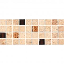Gres szkliwiony SAHARA beige listwa mozaika mat 11,7x29,5 gat. I