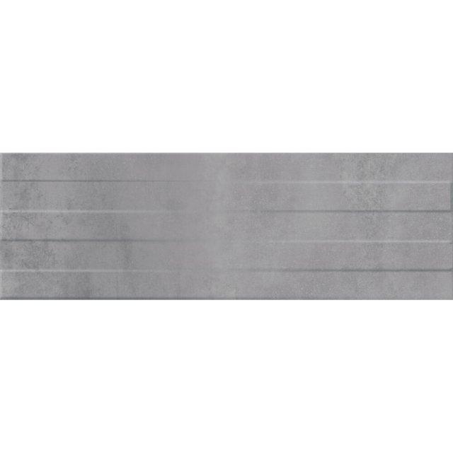 Płytka ścienna CONCRETE STRIPES grey structure mat 29x89 gat. I