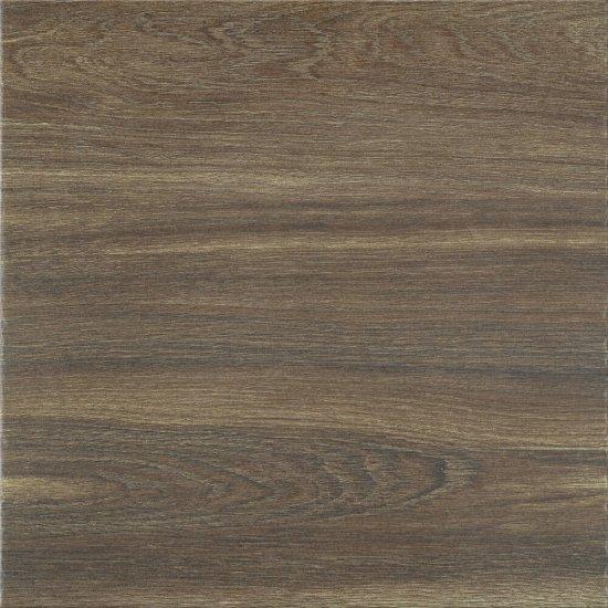 Gres szkliwiony TAGRO brown mat 42x42 gat. I