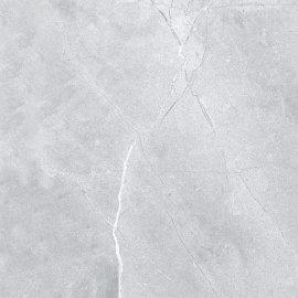 Gres szkliwiony silver ROCK grey polished 60x60 gat. I