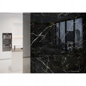 Gres szkliwiony ROYAL BLACK black polished 59,8x59,8 gat. II