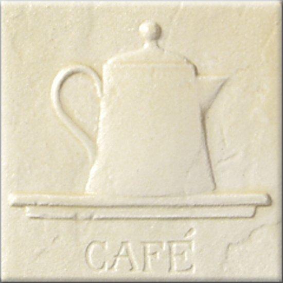 Płytka ścienna inserto AŁTAJ krem classic CAFE mat 10x10 gat. I