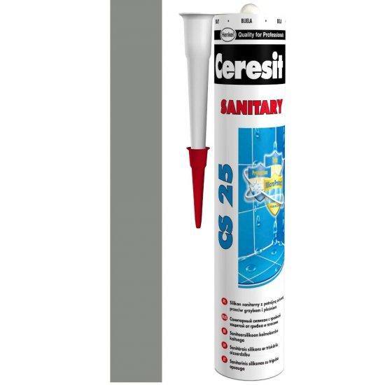 Silikon sanitarny CERESIT CS 25 antracite 280 ml