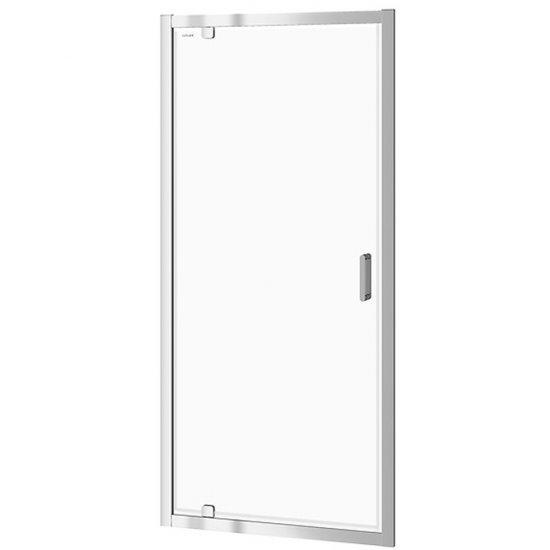 Drzwi PIVOT kabiny prysznicowej ARTECO 90x190 transparentne