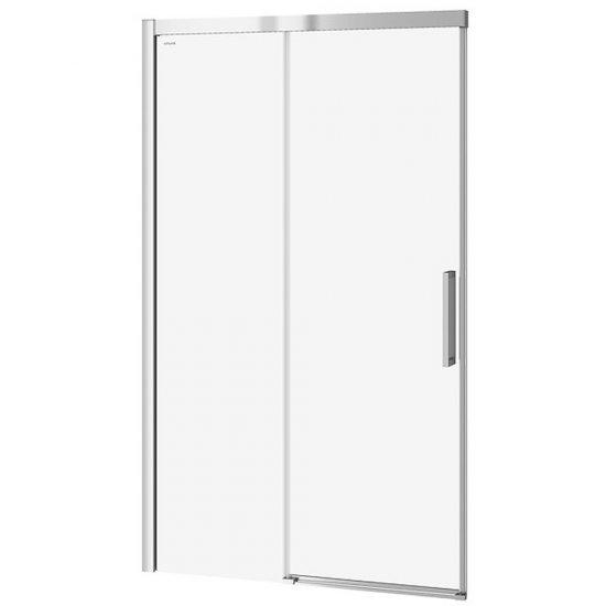 Drzwi przesuwne do kabiny prysznicowej CREA 120x200 transparentne