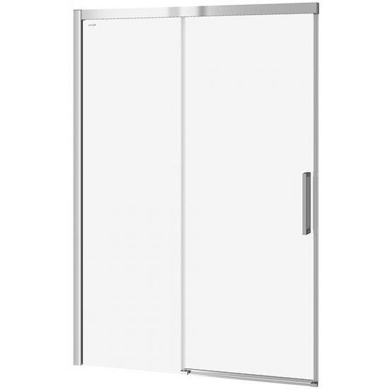 Drzwi przesuwne do kabiny prysznicowej CREA 140x200 transparentne