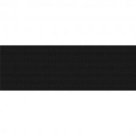 Płytka ścienna PRET A PORTER black textile glossy 25x75 gat. II