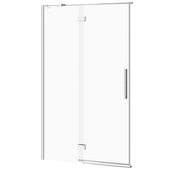 Drzwi na zawiasach kabiny prysznicowej CREA 120x200 lewe transparentne