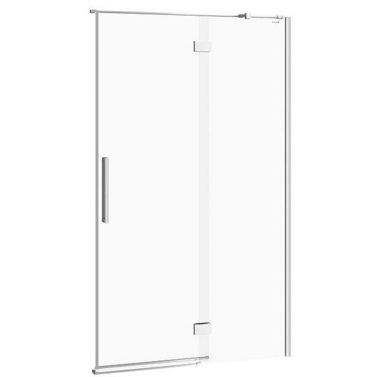 Drzwi na zawiasach kabiny prysznicowej CREA 120x200 prawe transparentne