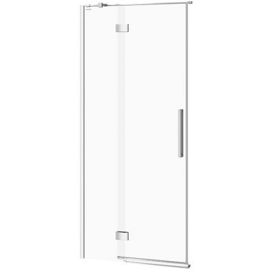 Drzwi na zawiasach kabiny prysznicowej CREA 90x200 lewe transparentne