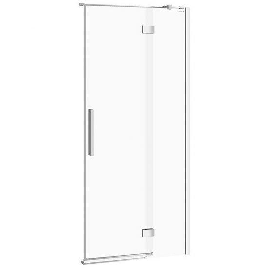 Drzwi na zawiasach kabiny prysznicowej CREA 90x200 prawe transparentne