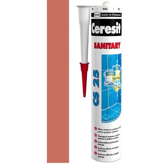 Silikon sanitarny CERESIT CS 25 clinker 280 ml