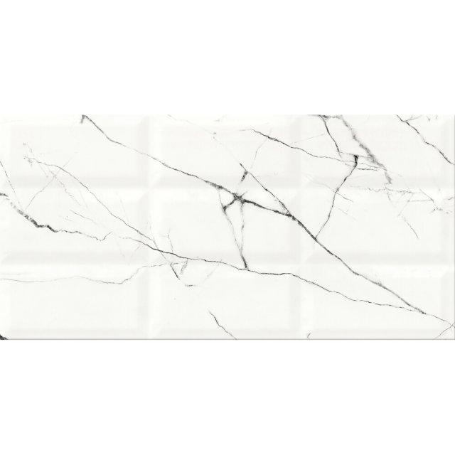 Płytka ścienna ARCE white structure glossy 29,7x60 gat. II