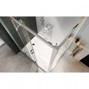 Kabina prysznicowa ARTECO przesuwna 100x80x190 transparentne