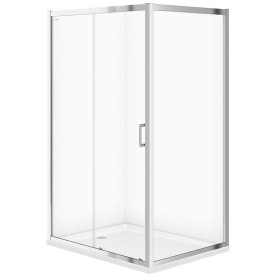 Kabina prysznicowa ARTECO przesuwna 120x90x190 transparentne