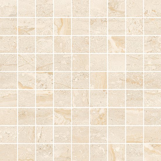 Mozaika gresowa NANGA cream glossy 29,7x29,7 gat. I