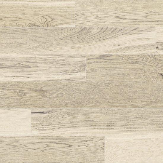 Deska warstwowa Barlinek dąb 1-lam lakier biały mat faza szczotka 14x180x1092mm Natur