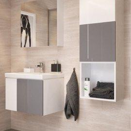 Szafka łazienkowa wisząca COLOUR 40X40 DSM biała