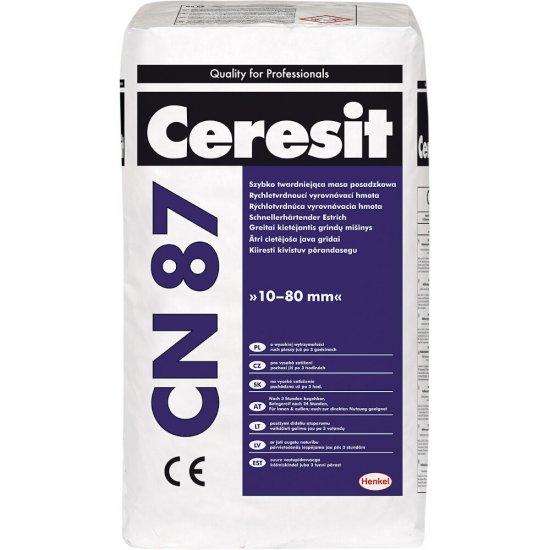 Szybko twardniejąca masa posadzkowa CERESIT CN87 25kg