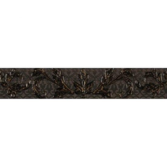 Płytka ścienna VALENTINA graphite listwa mat 5,4x29 gat. I