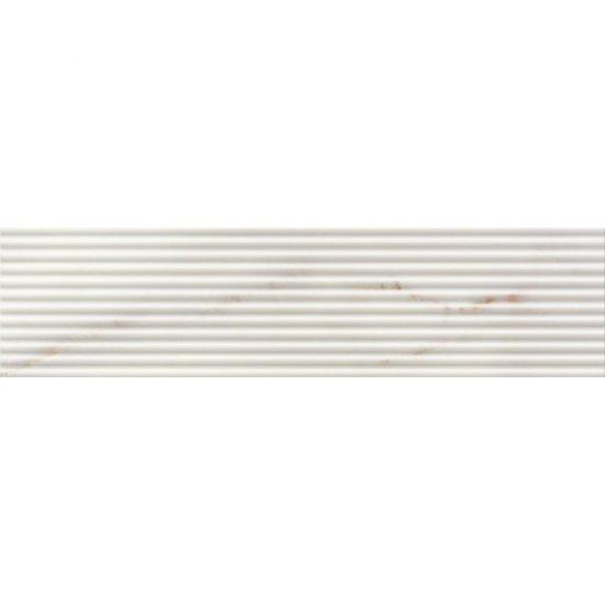 Płytka ścienna CARRARA white listwa błyszcząca 15x59,3 gat. I