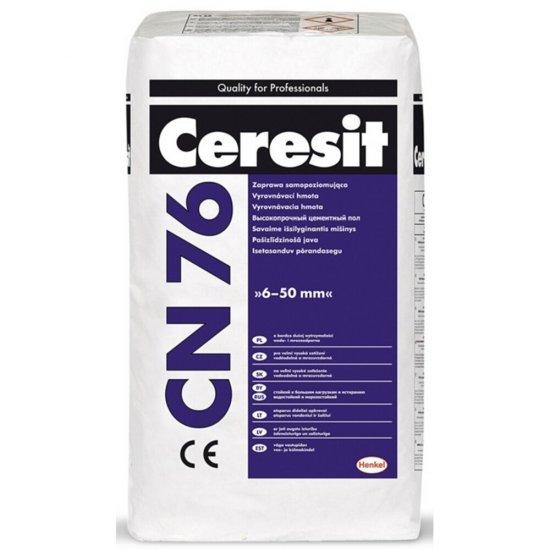 Zaprawa samopoziomująca CERESIT CN76 25kg