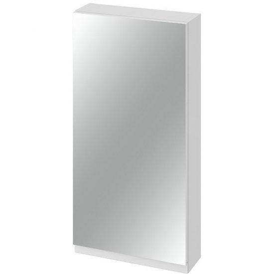 Szafka łazienkowa wisząca z lustrem MODUO 40 biała
