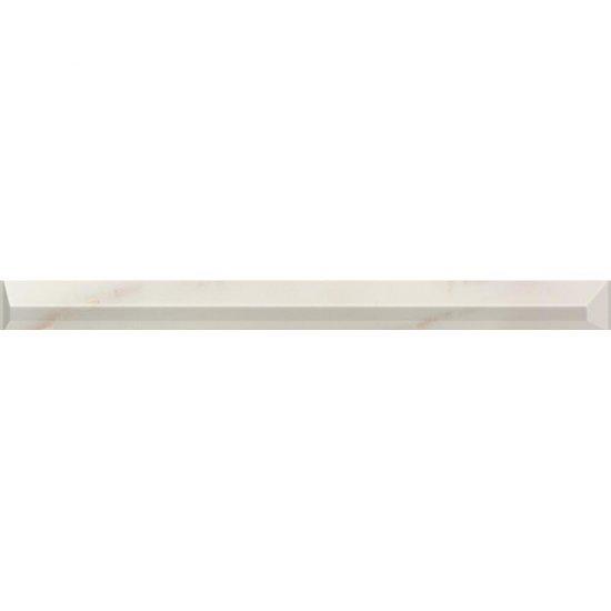Płytka ścienna CARRARA white profil błyszcząca 5x59,3 gat. I