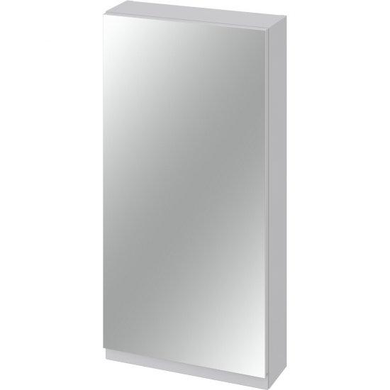 Szafka łazienkowa wisząca z lustrem MODUO 40 szara