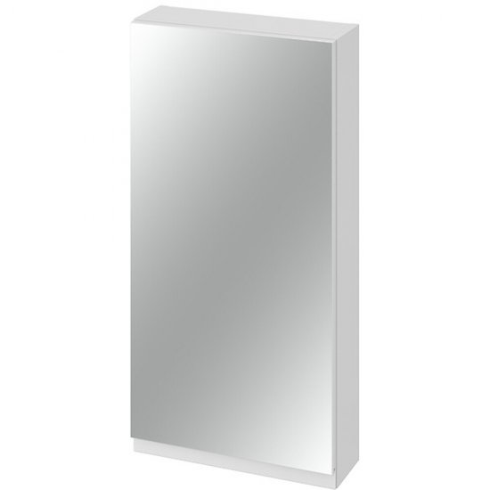 Szafka łazienkowa wisząca z lustrem MODUO 40 biała*