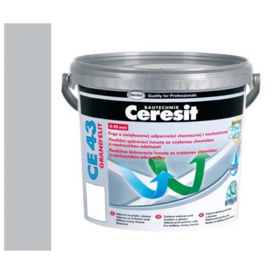 Fuga elastyczna tarasowa 2-20 mm CERESIT CE 43 gray 5 kg
