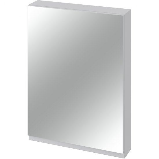 Szafka łazienkowa wisząca z lustrem MODUO 60 szara