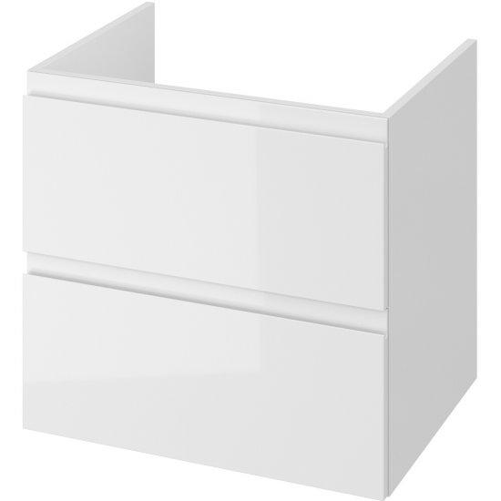 Szafka podblatowa MODUO z pełnymi szufladami 60 biała