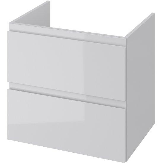 Szafka podblatowa MODUO z pełnymi szufladami 60 szara