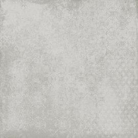 Gres szkliwiony STORMY white carpet mat 59,3x59,3 gat. II