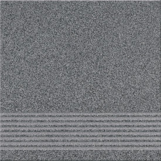 Gres techniczny stopnica KALLISTO K10 grafit mat 29,7x29,7 gat. I