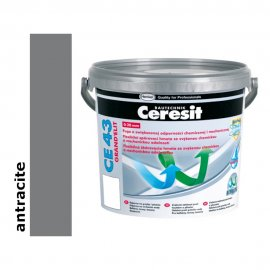 Fuga elastyczna tarasowa 2-20 mm CERESIT CE 43 antracite 5 kg