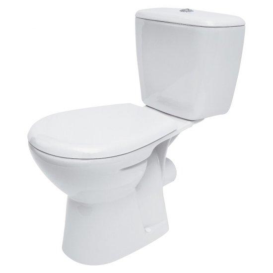 Kompakt WC ATLANTIC 3/6 deska duroplastowa antybakt