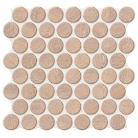 Gres szkliwiony hiszpański Realonda CIRCLE OAK 30,9x30,9 gat. I