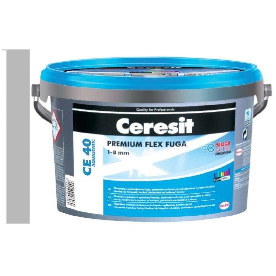 Fuga elastyczna CERESIT CE 40 gray 5 kg