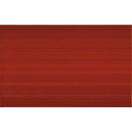 Płytka ścienna LORIS red structure glossy 25x40 gat. II