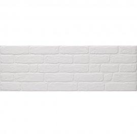 Płytka ścienna KERABEN Wall Brick white mat 30x90 gat. I