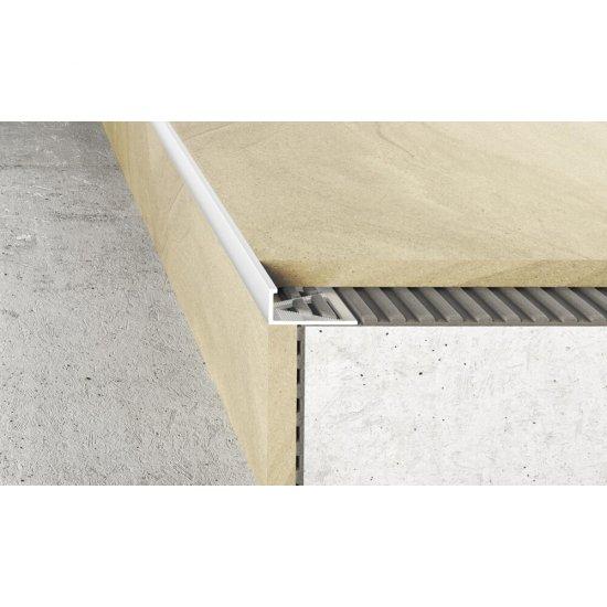 Profil krawędziowy A51 biały 2,5 m EFFECTOR